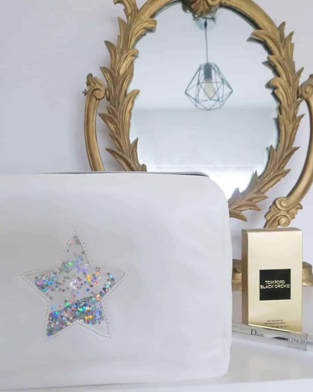 star makeup bag