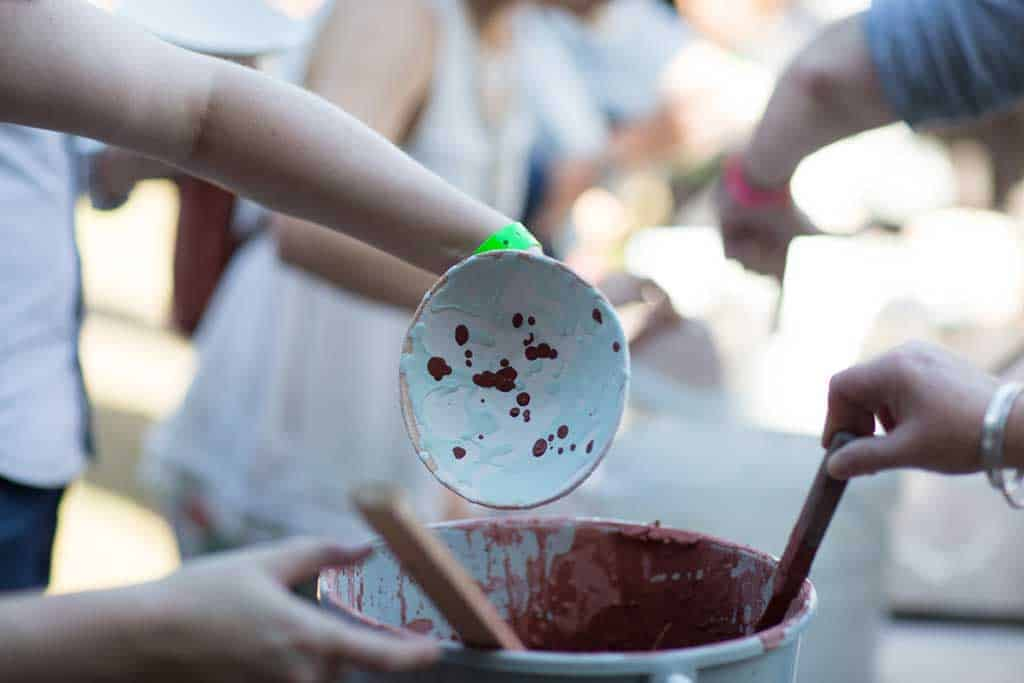 Painting and craft at The Good Life Experience