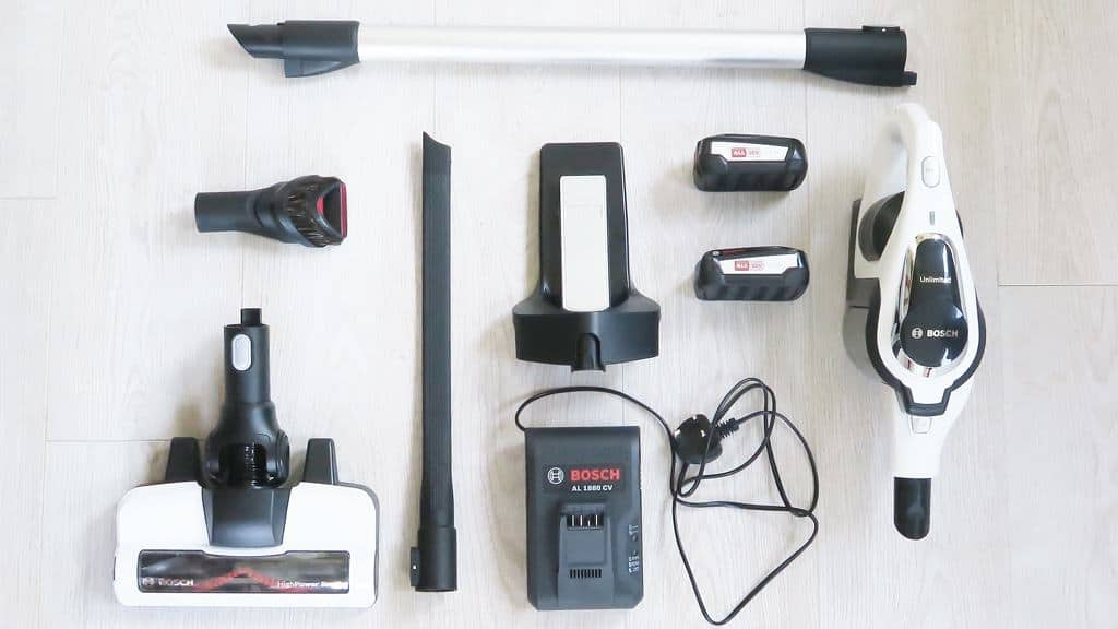 The Bosch Unlimited Cordless Vacuum —plus all its accessories