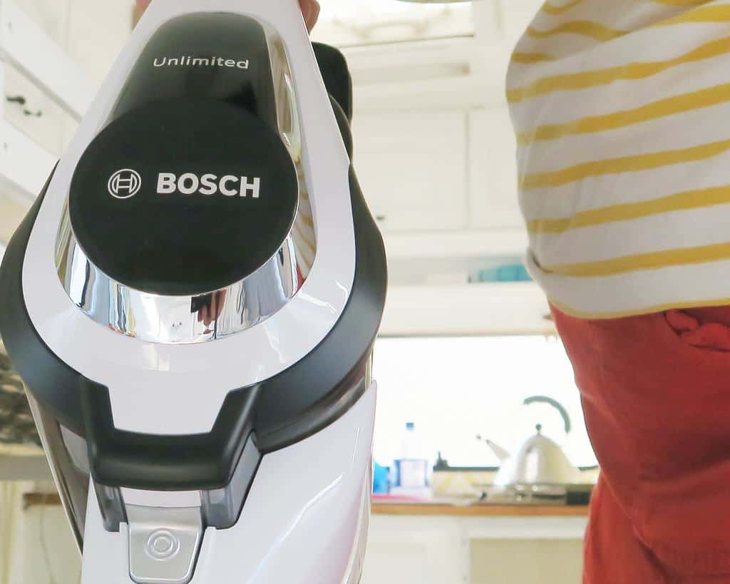 The Bosch Unlimited Cordless Vacuum — the perfect caravan vacuum cleaner!