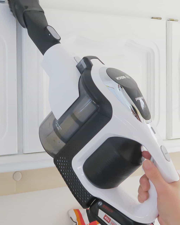 The Bosch Unlimited Cordless Vacuum — the best caravan vacuum cleaner!