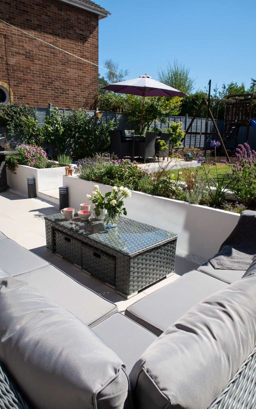 An absolutely fabulous garden makeover from Steph
