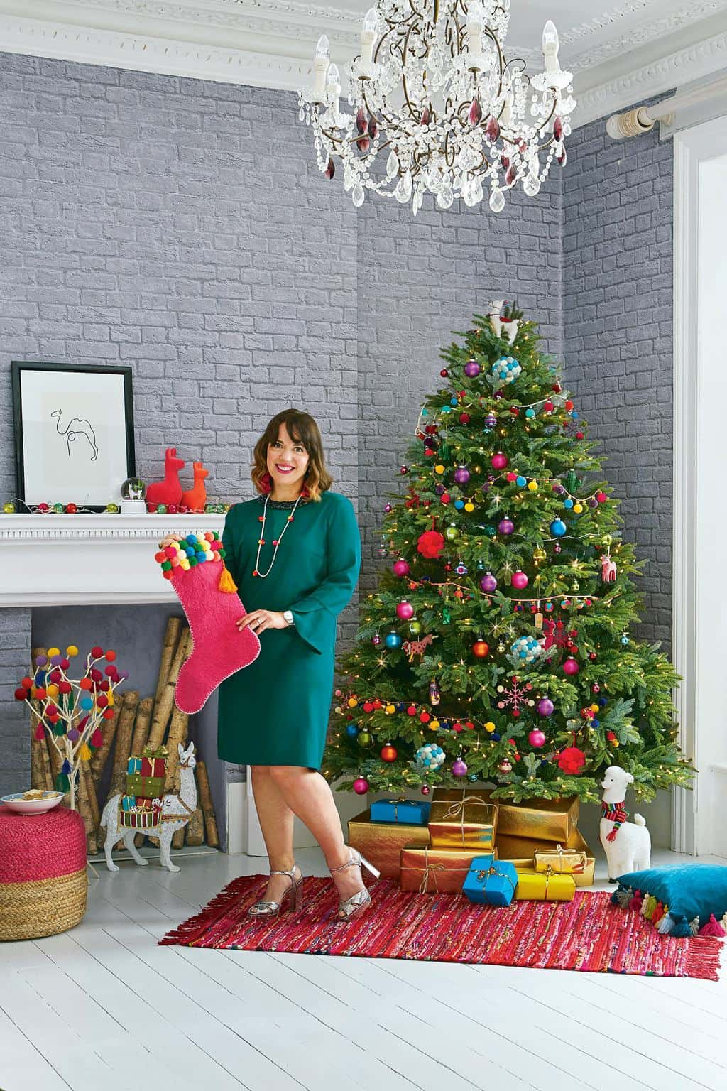 Behind the Scenes at the Style at Home Christmas Tree Challenge 2018