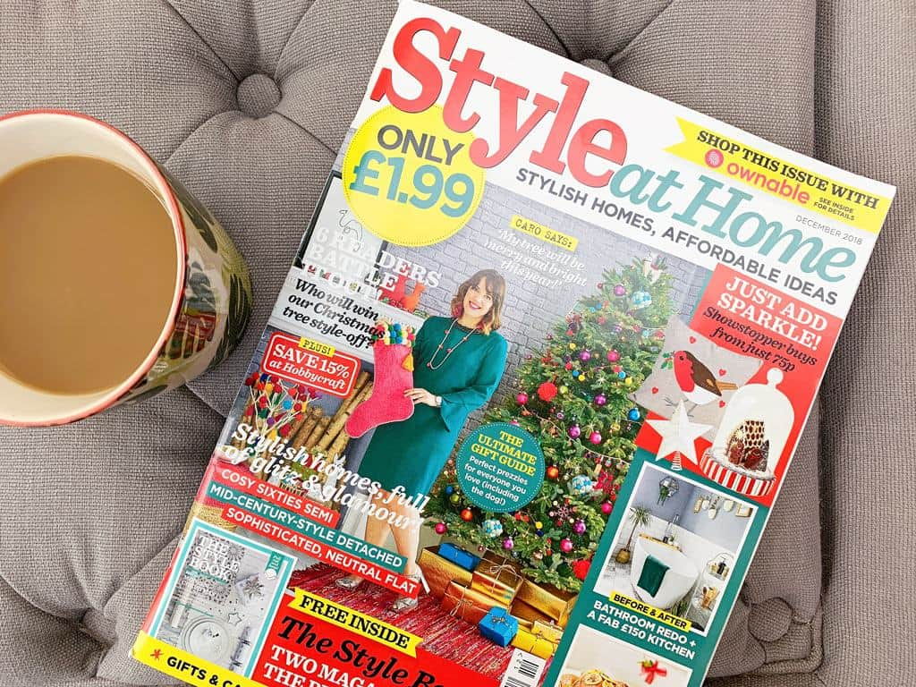 The Style at Home Christmas Tree Challenge 2018