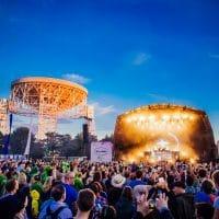 Orbital rocking the main stage at Bluedot 2017
