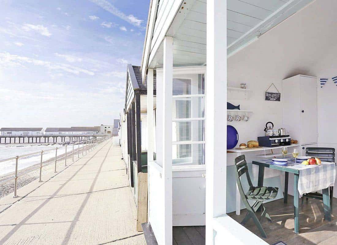 The Glory Hut beach hut from Suffolk Secrets