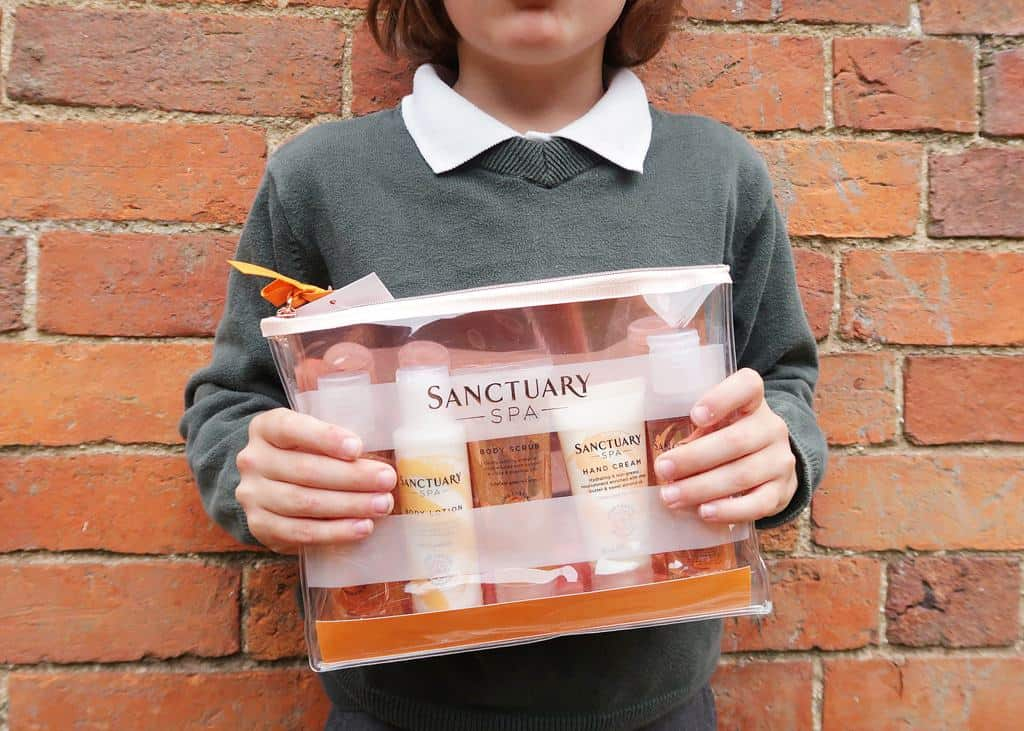 Sanctuary Spa Spend More Time Being Gift Set makes a great gifts for teachers