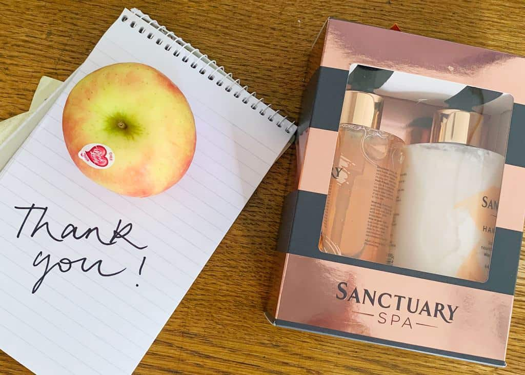 Sanctuary Spa Every Moment Matters Gift Set makes a great gifts for teachers
