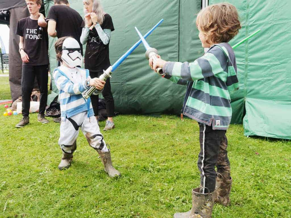 Jedi training | The Twinkle Diaries Bluedot Review 2019