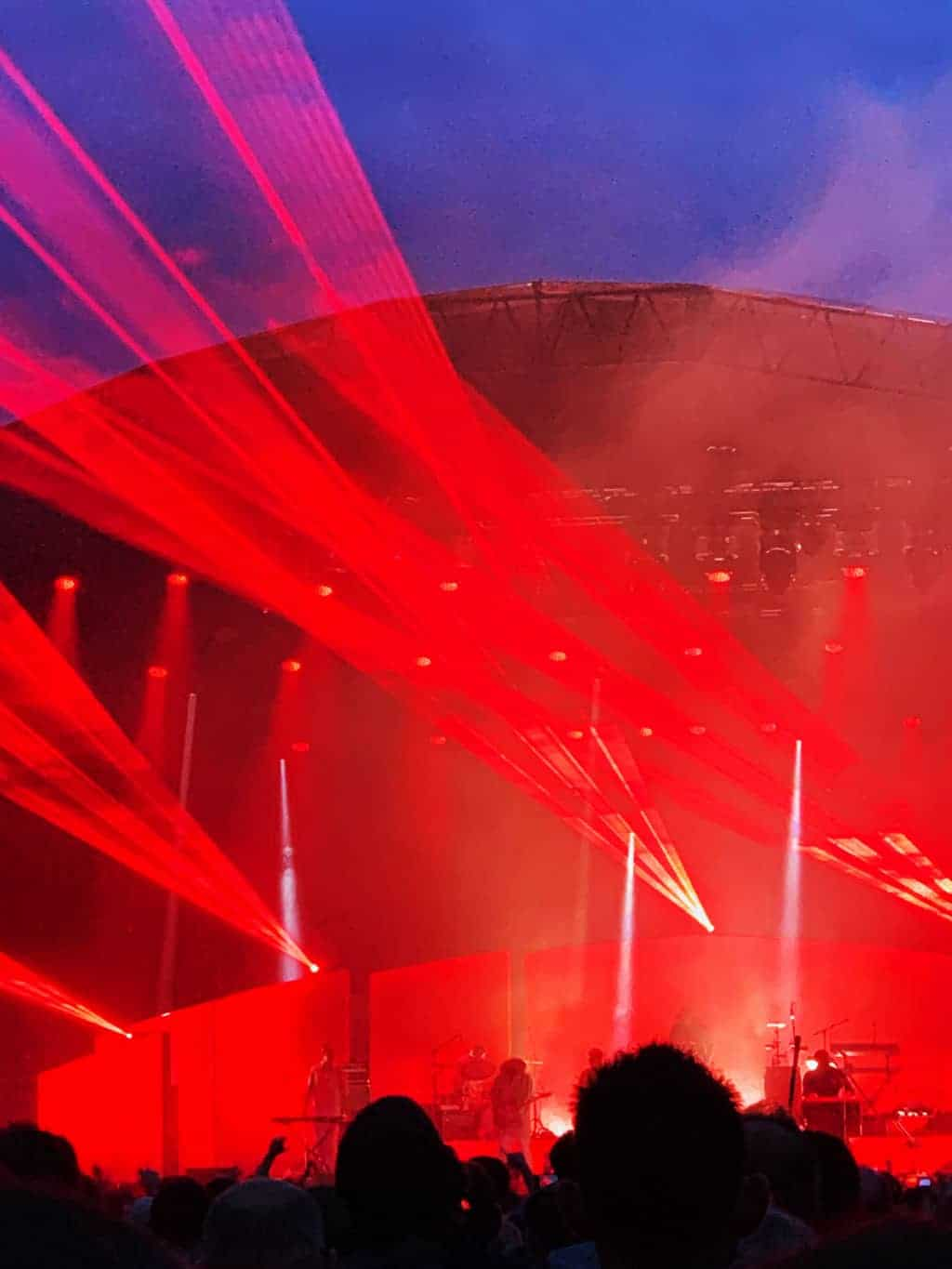 Hot Chip on the main stage at Bluedot 2019 | The Twinkle Diaries Bluedot Festival Review 2019