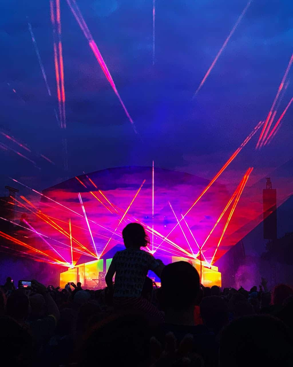 Main stage at Bluedot 2019 | The Twinkle Diaries Bluedot Festival Review 2019