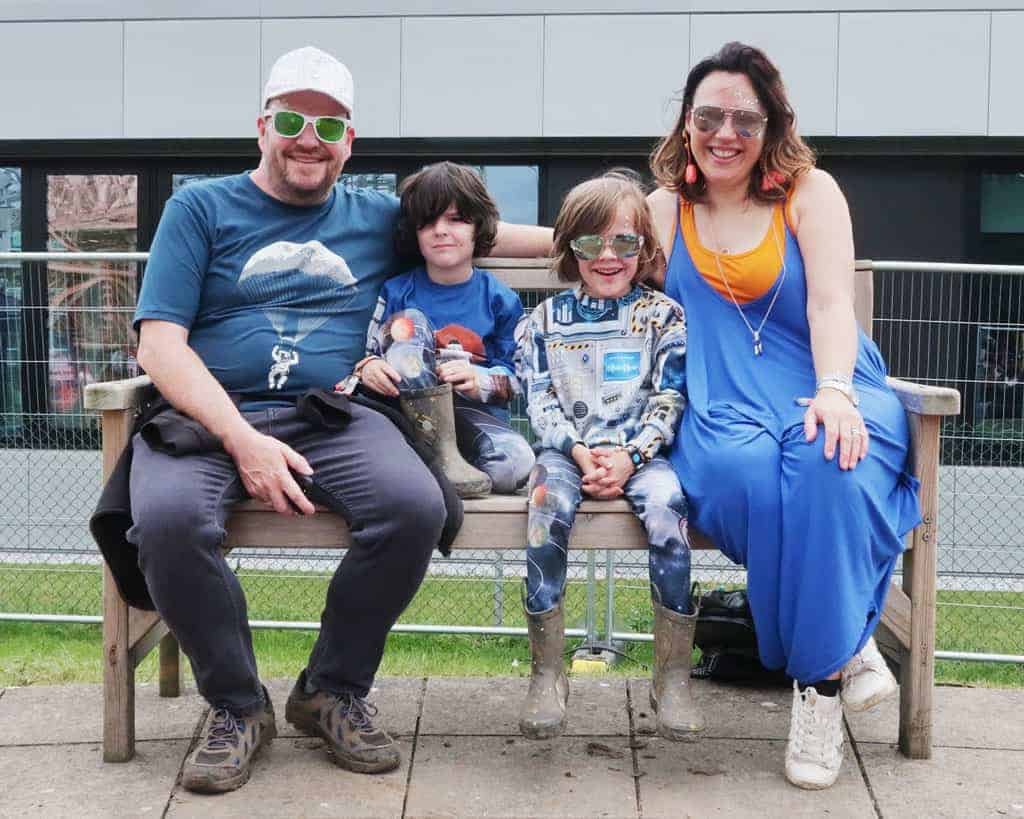 Our family at Bluedot 2019 | The Twinkle Diaries Bluedot Review 2019
