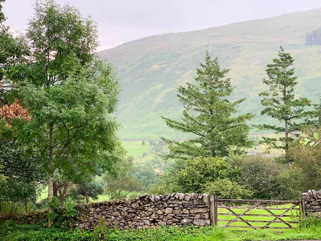 The view from The Queens Head Troutbeck
