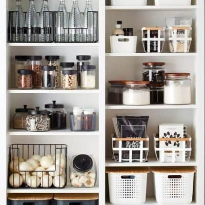 kitchen organisation — the dream!