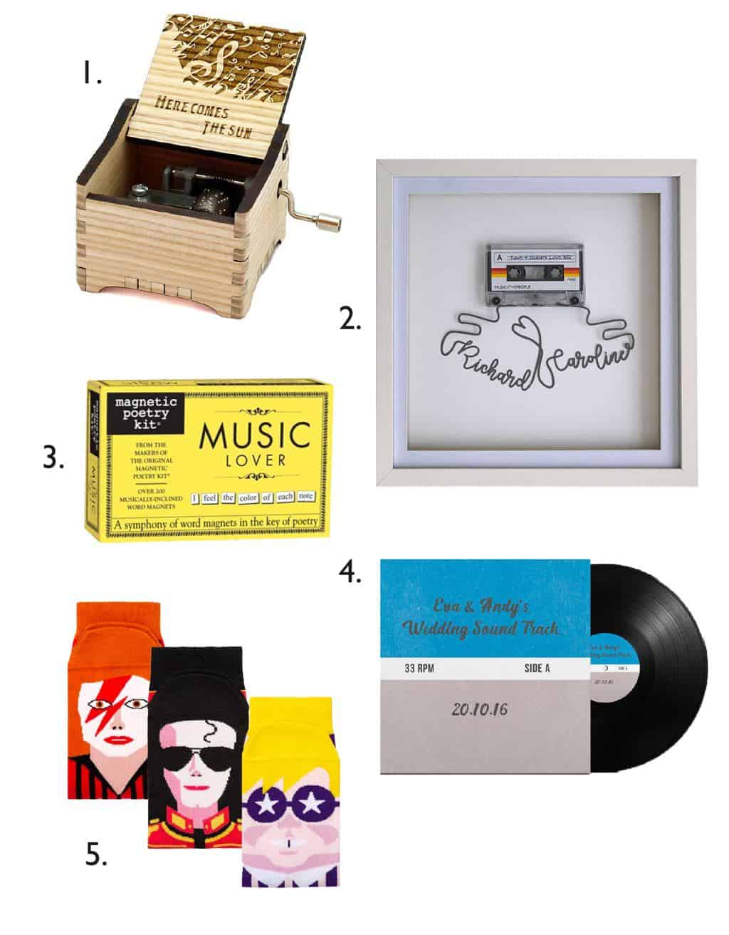 Thoughtful Valentine's Gifts For Music Lovers