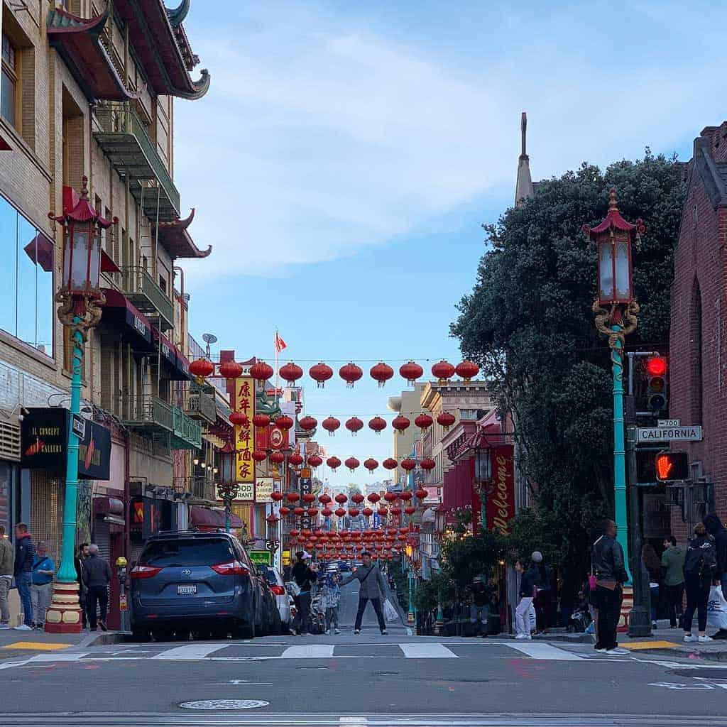 China town in San Francisco — California road trip kid friendly