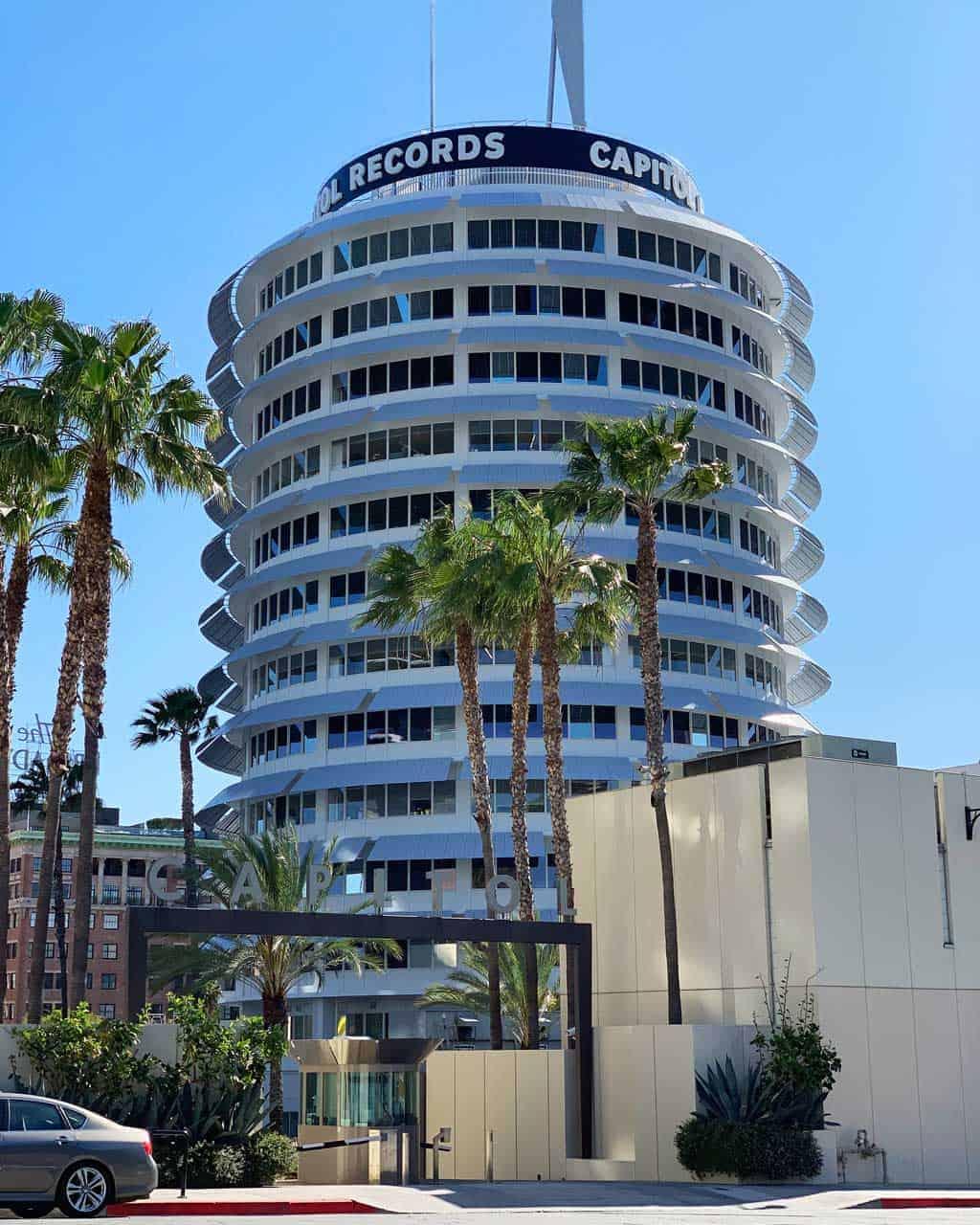 The home of Capitol Records — LA