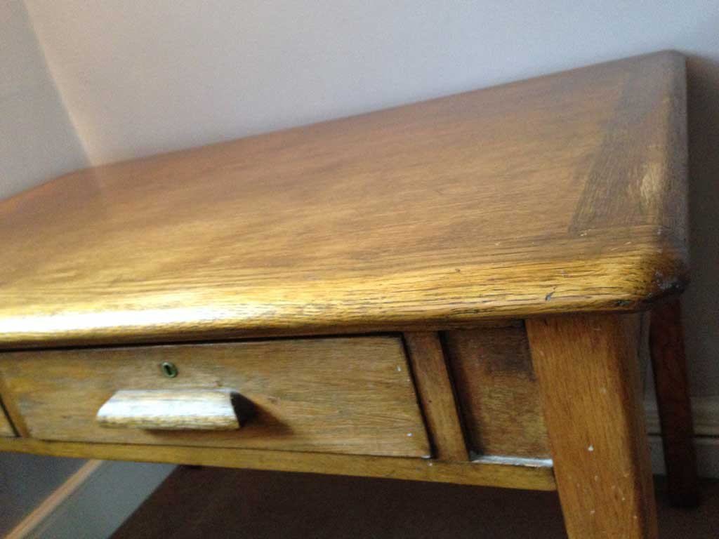 How to upcycle an old desk.
