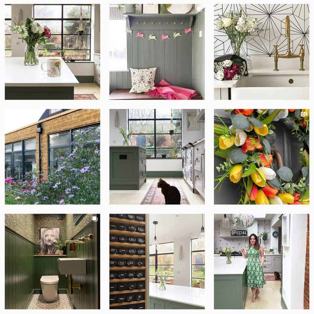 pictures from The Listed Home on Instagram