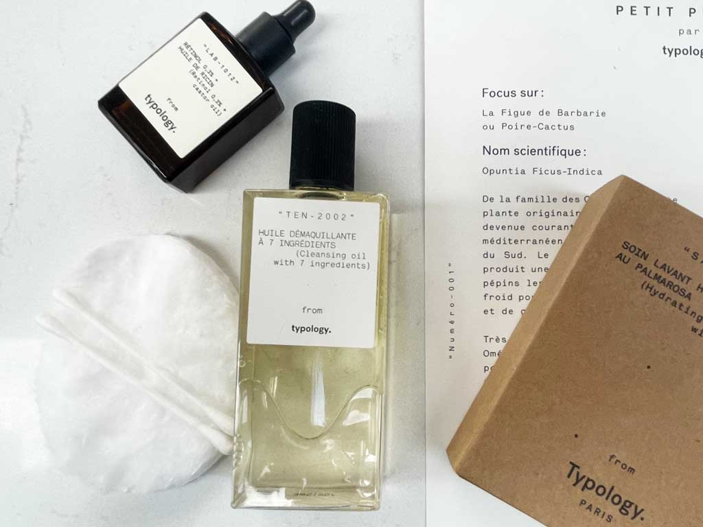 Typology Paris skincare offers affordable luxury