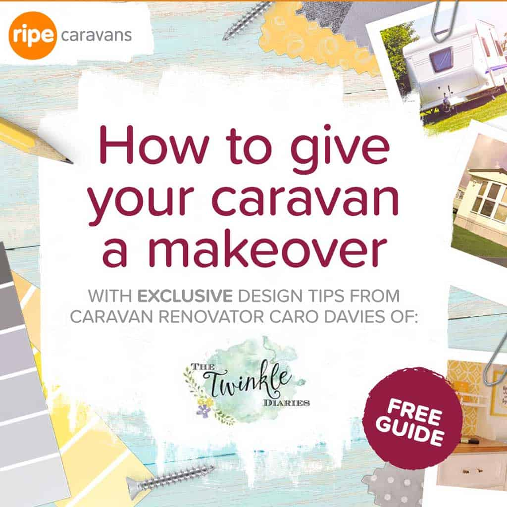 Use the Ripe Insurance 'Essential Caravan Makeover Guide' to update your van, then enter your caravan to be in with a chance to win a fabulous £500 voucher!
