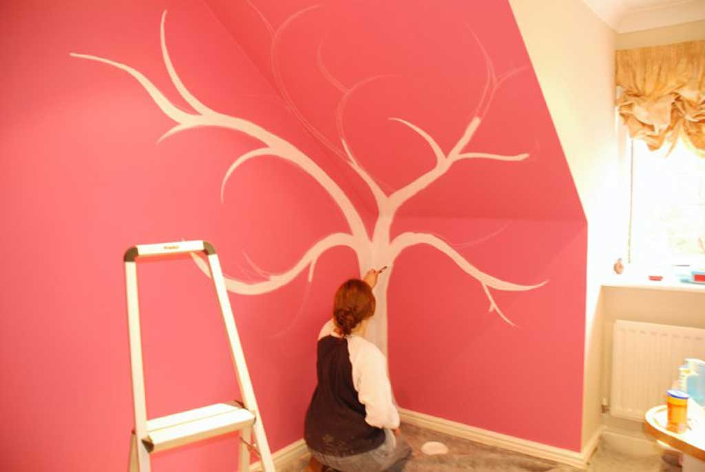 Decorating Childrens Rooms with Hand Painted Wall Murals