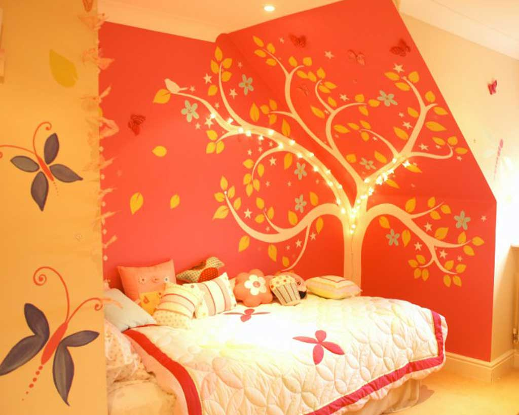 hand painted murals for kids rooms give you the chance to be so creative!