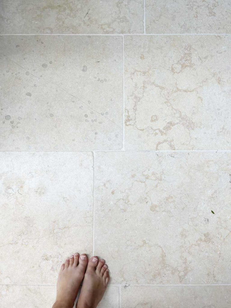 We bought our Monte Carlo limestone flooring for our kitchen extension from  Quorn Stone.